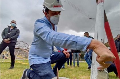 Alcalde de Soacha, Juan Carlos Saldarriaga, denunció que le hicieron un atentado este viernes