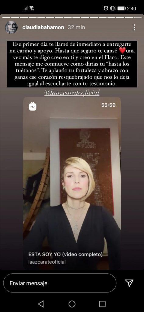 Instagram: Claudia Bahamón