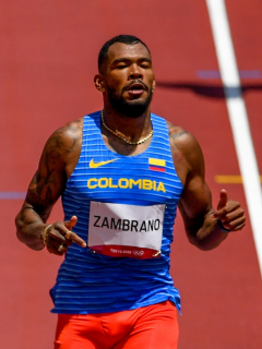 Anthony Zambrano, en final Juegos Olímpicos de atletismo 400 metros