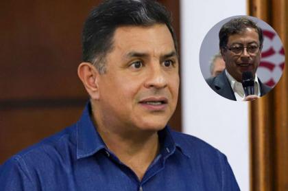 Fotos de Jorge Iván Ospina y Gustavo Petro, en nota de qué dicen que Procuraduría va a suspender al alcalde de Cali en la FM y recordaron a Gustavo Petro.