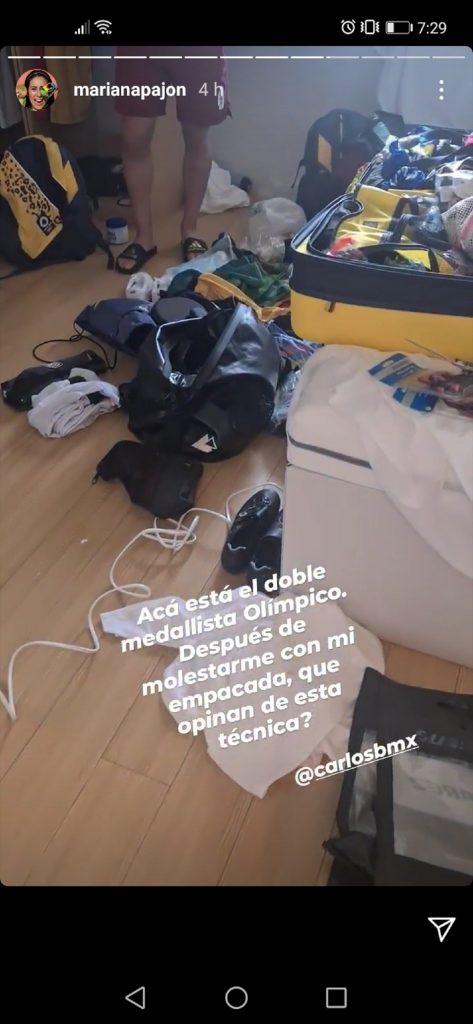 Instagram: Mariana Pajón