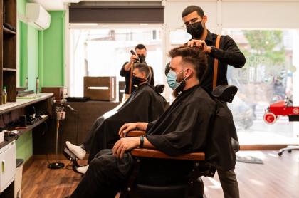 Foto de corte de pelo, a propósito de cuándo se debe cortar el pelo en agosto