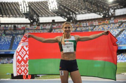 Krystsina Tsimanóuskaya, atleta Bielorrusia recibe visado humanitario de Polonia