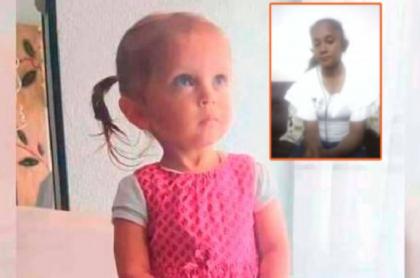 Carolina Galván, mamá de Sara Sofía Galván, culpa a Nilson Díaz por desaparición de la niña en Bogotá