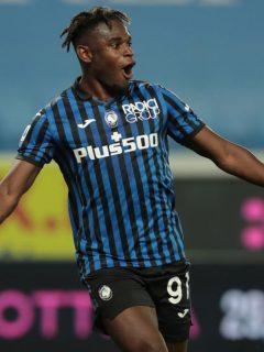 Duván Zapata podría ser el nuevo delantero del Inter si Romelu Lukaku se va