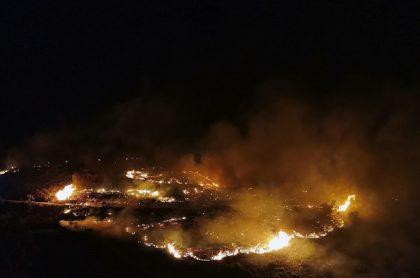 Imagen de incendio que ilustra nota; Unión Europea se mueve por incendios en Grecia, Italia y Turquía