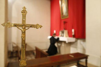Imagen de iglesia que ilustra nota; Antioquia: hombre atacó y amenazó con cuchillo al cura de La Unión
