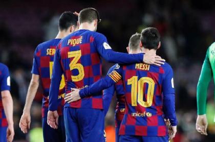Mensaje de despedida de Gerard Piqué a Lionel Messi