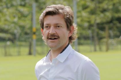 Emilio Gutiérrez, presidente de Atlético Nacional, fue uno de los mencionados en las burlas por no poder inscribir jugadores para 2021-2.