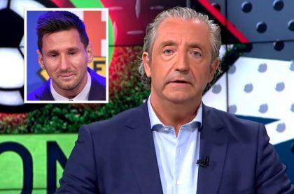 Josep Pedrerol, reconocido periodista español, renunció a 'El Chiringuito' por la salida de Lionel Messi del Barcelona.