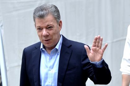 Imagen de Juan Manuel Santos, que cumple 70 años y sus hijos lo felicitan en redes