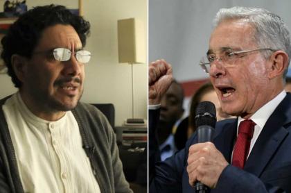 Iván Cepeda y Álvaro Uribe, enfrentados por proceso contra el expresidente por supuesto soborno a testigos