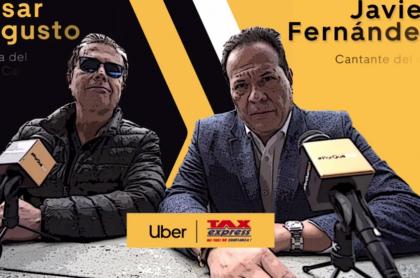 Alianza de Uber con taxistas en Colombia: la presentó César Augusto Londoño y el cantante del Gol.