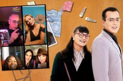 Actriz de Betty, la fea, del canal RCN, confiesa romance con Fernando Gaitán.