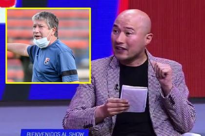 Bolillo Gómez le dijo acomplejado a periodista Jorge Bermúdez de ESPN
