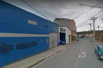 Bogotá hoy: explosión en taller en Engativá; dos heridos