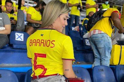 Hemilly Vanegas, esposa de Wilmer Barrios (Selección Colombia), denunció a través de sus redes sociales que abrieron un perfil de OnlyFans con su nombre.