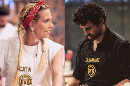 """Catalina Maya habló sobre sus excompañeros de 'Masterchef' (Canal RCN) y afirmó que Emmanuel Esparza """"está muy bueno""""."""
