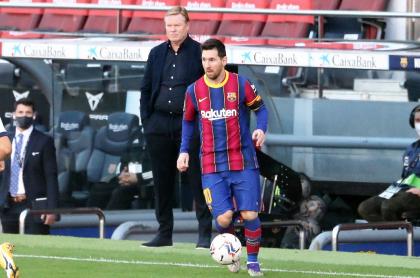 Lionel Messi (PSG) es extrañado por Ronald Koeman, DT del Barcelona