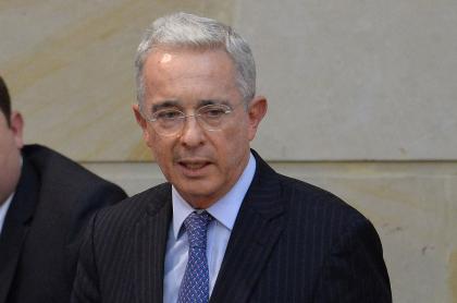 Álvaro Uribe habla de caso 'Epa Colombia' en Comisión de la Verdad