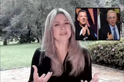 Vicky Dávila opinó sobre el trato que les dieron a los expresidentes Santos y Uribe en Comisión de la Verdad