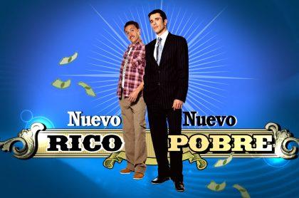 Martín Karpan y John Álex Toro en 'Nuevo rico, nuevo pobre', a propósito de cuándo la emiten en Caracol y a qué hora.