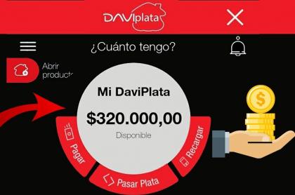 Daviplata: queja de cliente por dinero que no le quiere devolver el banco.