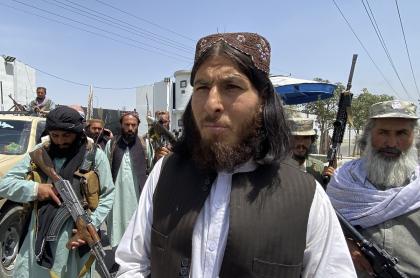 Imagen de talibanes ilustra artículo Afganistán: talibanes tienen su talón de Aquiles