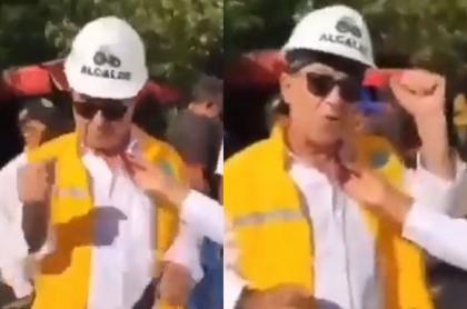 William Dau, alcalde de Cartagena, se hace viral en las diferentes redes sociales por graciosa declaración a periodista