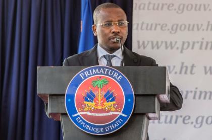 Claude Joseph, primer ministro de Haití que habría estado relacionado con el magnicidio de Jovenel Moïse.