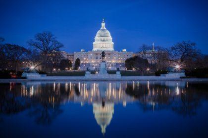 Amenaza de bomba en Capitolio en Washington, Estados Unidos