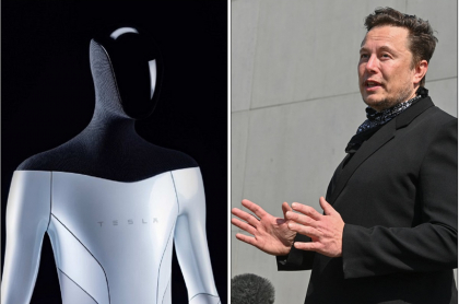 Tesla Bot y Elon Musk