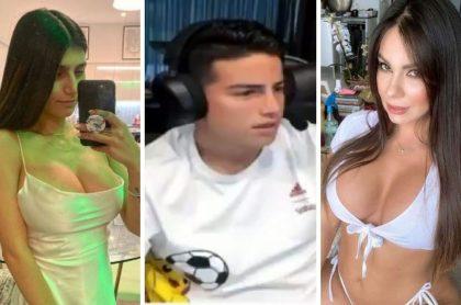 James Rodríguez escogió entre Esperanza Gómez y Mia Khalifa