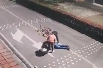 Mataron a un hombre y luego lo robaron en barrio La Estrada de Bogotá