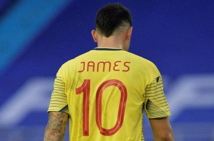 James Rodríguez, a la Selección Colombia Sub-15, campaña de Hernández Bonnet. Imagen del volante.