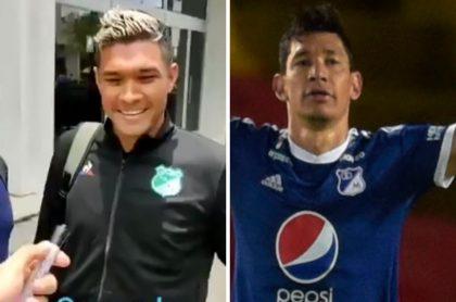 Teófilo Gutiérrez y Roberto Ovelar