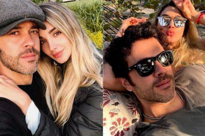 Melina Ramírez y Juan Manuel Mendoza juntos en selfi y de vacaciones, a propósito de que el actor dijo si se va a casar con la presentadora de Caracol.