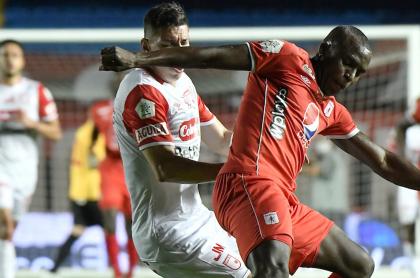 Ver en vivo Independiente Santa Fe vs. América de Cali hoy; Liga Betplay. Imagen de referencia.