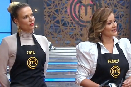 Cuáles eliminados vuelve a Masterchef; Alicia Machado y más famosos, afuera. Imagen de Catalina Maya y Francy.