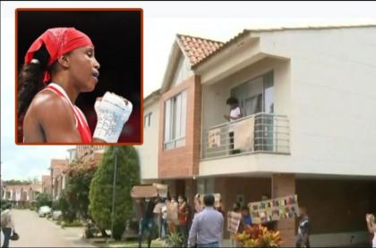 Ingrit Valencia, la boxeadora olímpica que tiene que desalojar su casa en Ibagué