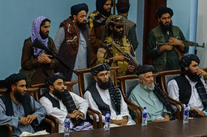 Los talibanes celebraron la salida de Afganistán de las fuerzas militares de Estados Unidos después de 20 años.