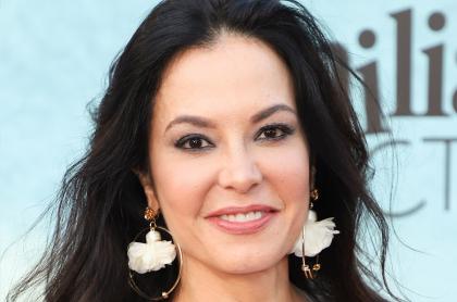 Coraima Torres en premier de 'Mi familia perfecta', a propósito de que la actriz de 'Enfermeras' confesó cuál es su edad real.