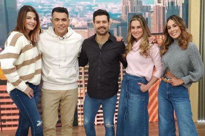 Emotivo reencuentro entre los hijos de Carolina Cruz y Carolina Soto, presentadoras de 'Día a Día' (Caracol Televisión); desordenaron la casa.
