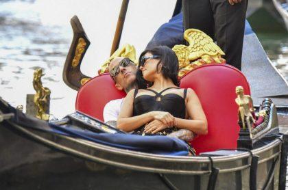 Fotos de Kourtney Kardashian y Travis Barker en Venecia, Italia.