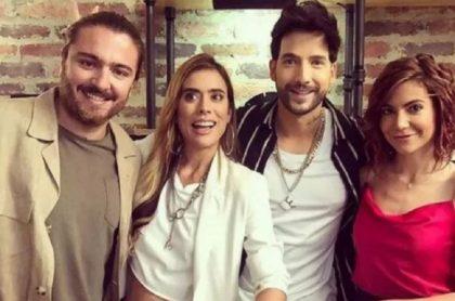 Andrés Sandoval, de 'La reina del flow' (Caracol Televisión), reveló chat con joven seguidora que lo insultó por su personaje de Juan Camilo Meza.