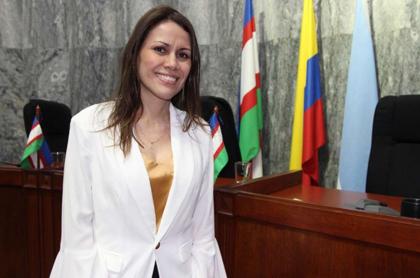 Foto de Contralora de Cali, María Fernanda Ayala, en nota de atentado en su contra.