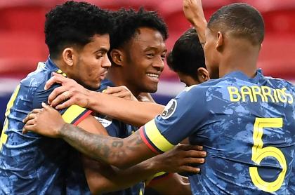Ver Bolivia vs. Colombia hoy en vivo; Eliminatoria suramericana. Imagen del combinado 'cafetero'.