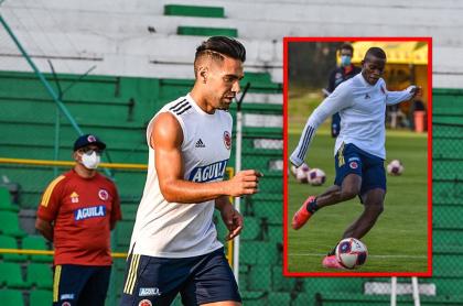 Video de Falcao García y Andrés Román juntos en la Selección Colombia ilusiona a hinchas de Millonarios