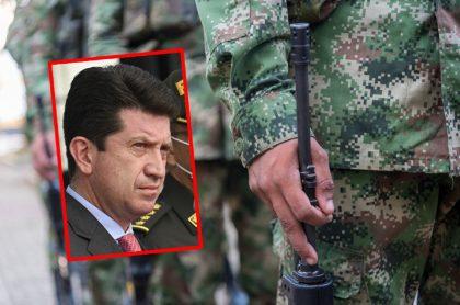 Imagen de Diego Molano, ministro de Defensa.