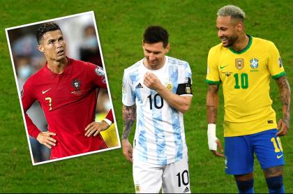 Los 50 deportistas más influyentes de 2021; CR7, Messi y Neymar, fuera del top 5. Fotomontaje: Pulzo.